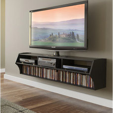 Serving Dishes And Platters Broadway Altus Plus Black 58-inch Floating TV Stand