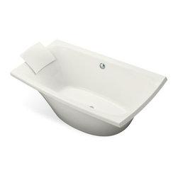 KOHLER - KOHLER K-11344-0 Escale Freestanding Bath - KOHLER K-11344-0 Escale Freestanding Bath in White