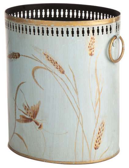 Traditional Wastebaskets by Wisteria