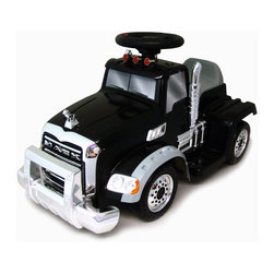 New Star - New Star Mack Truck Battery Powered Riding Toy Multicolor - MK-6V-BL - Shop for Tricycles and Riding Toys from Hayneedle.com! About Kidz DelightJust like Santa Claus Kidz Delight is one of the nation's largest toy and gift distributors. Under the Group Sales Inc. umbrella they've been providing quality toys and gifts at fair prices for years. Kidz Delight is a leader in early childhood electronic learning aids and dozens of their toys have won awards. From interactive memory games to smart cards to musical instruments Kidz Delight toys will make your little one smile.