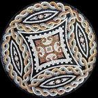 Custom Designed Handcut Roman Style Marble Mosaic Medallions - Custom Designed and handcrafted Marble Mosaics Medallion Tiles