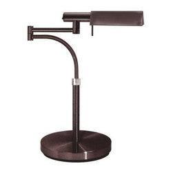 "Sonneman - Sonneman 7014 E-Tenda 1 Light Halogen 19"" Height Swing Arm Table Lamp - Sonneman 7014 E-Tenda 1 Light Halogen 19"" Height Swing Arm Table LampA sturdy, well built swing arm table lamp that will provide the perfect amount of direct light where you need it.Sonneman 7014 Features:"