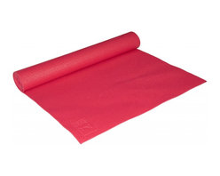 Maha Fitness - Maha Yoga Matin Red - 3 mm - Our Yoga Mats are designed to provide better traction during your yoga routine by minimizing the chance of slipping during yoga positioning that requires your feet and/or hands to be placed firmly on the ground. The Yoga Mat is made to cushion the surface as well as having just the right amount of give to provide your feet with the support needed to allow them to move more fluidly during minor adjustment and helping to improve your balance.