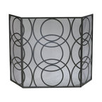 Cyan Design - Cyan Design Lighting 01350 Orb Fire Screen - Cyan Design 01350 Orb Fire Screen