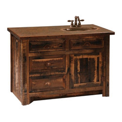 Shop Knotty Hickory Cabinets Bathroom Vanities on Houzz