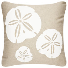 Beach Style Decorative Pillows by Wabisabi Green