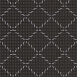 Graham and Brown - Quantum Wallpaper - Take a quantum leap and decorate your walls with diamond geometric-effect wallpaper. Contemporary and classic, the time-honored tradition adds texture and color to any facade. This black-silver color pattern will look elegant in your cozy quarters.