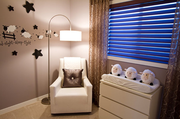 Modern Nursery by Wen-Di Interiors