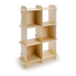 OFFI - Ply Grid Shelf, Vertical - Designed by OFFI. No tools needed for assembly.