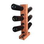 The Rusted Nail LLC - 6-Bottle Wine Tower - You'll feel a tower of power with this well-proportioned, six-bottle wine rack that's made from reclaimed barn wood. Providing you with a conversation piece, as well as a way to store your treasured vintages at an inverted angle, the tower also features a handy slot in the base specifically made to hold a cork screw.