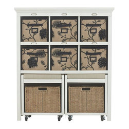 goes along with form with our Morgan Storage Cabinet with Pull-Out ...