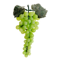 Silk Plants Direct - Silk Plants Direct Round Grapes (Pack of 12) - Green - Silk Plants Direct specializes in manufacturing, design and supply of the most life-like, premium quality artificial plants, trees, flowers, arrangements, topiaries and containers for home, office and commercial use. Our Round Grapes includes the following: