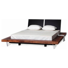 Contemporary Platform Beds by Woodland Creek Furniture