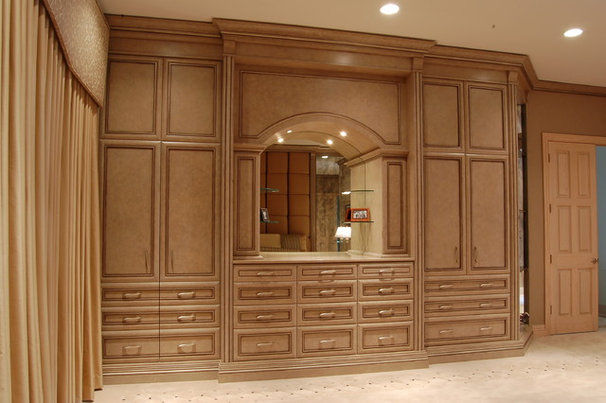 Traditional Closet by B. W. Interiors Chicago