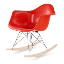 Herman Miller - Eames® Molded Fiberglass Armchair with Rocker Base | Herman Miller - Design by Charles & Ray Eames, 1950. Reissued in 2014.