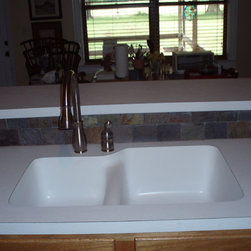 180 FX FORMICA - 180FX Formica and all laminate brands Now have under mount sinks in both Acrylic and Stainless Steel . Much more affordable for the budget friendly renovations