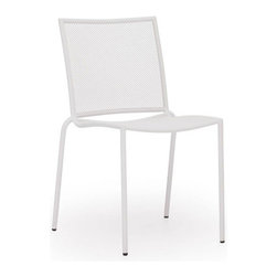 Zuo Modern - Zuo Repulse Bay Chair in White [Set of 4] - Repulse Bay Chair in White by Zuo Modern Funky and fun, the Repulse chair will add flare to any space. Frame is made from 100% epoxy coated steel durable in any climate. Chair (4)