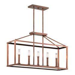 Kichler Lighting - Kichler Lighting Archibald Antique Copper Chandelier - 43217ACO