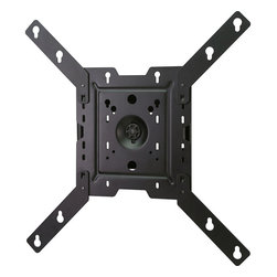 """Peerless - Full Motion Tilting Wall Mount for 22"""" - 46"""" Up to 70 Lbs - The Peerless PRMA4X4 Full Motion Tilting Wall Mount for 22-37 in up to 55 lbs is an articulating wall mount that gives the ultimate in display positioning, with one-person, Hook-and-Hang easy installation. The articulating arm allows you to extend the display up 14.72-inches (374mm) from the wall, and can retract to just 2.59-inches (66mm) from the wall. The integrated cable management provides a clean, professional finish. One-Touch tilt of +15/-15 degrees, +5/-5 degree roll for post-installation leveling, and +90/-90degrees pivoting means the display will be perfectly positioned for the optimum viewing angle."""