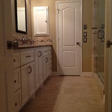 Contemporary Bathroom by Alan Stone Tile & Stone