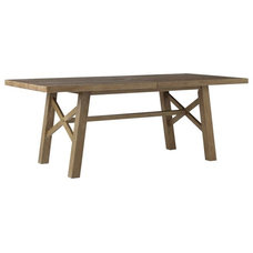 Traditional Outdoor Dining Tables by West Elm