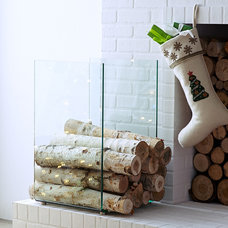 Contemporary Fireplace Accessories by Wisteria