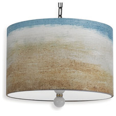 Beach Style Pendant Lighting by Kathy Kuo Home