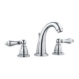 Design House - Design House 523399 Hathaway Wide Spread Lavatory Faucet, Polished Chrome Finish - The Design House 523399 Hathaway Wide Spread Lavatory Faucet features a dual handle design, 3-hole, 6-12-inch mount and brass and plastic pop-up for sealing your drain. This faucet�s body and handles are made of brass. Finished in polished chrome, this faucet is vintage inspired with a petite design to accent any bathroom. Compared to the 1-5 year lifespan of traditional faucets, ceramic disc faucets can last up to 30 years and provide ultimate protection against corrosion to the water valve. The 1.5-gallon per minute flow rate ensures a steady water flow after years of everyday use and the high vaulted spout extends 4.62-inches which leaves plenty of room for washing your hands. This faucet has a quarter turn stop lever handle operation and is UPC, ADA, lead-free and cUPC compliant. The Design House 523399 Hathaway Wide Spread Lavatory Faucet comes with a lifetime limited warranty that protects against defects in materials and workmanship. Design House offers products in multiple home decor categories including lighting, ceiling fans, hardware and plumbing products. With years of hands-on experience, Design House understands every aspect of the home decor industry, and devotes itself to providing quality products across the home decor spectrum. Providing value to their customers, Design House uses industry leading merchandising solutions and innovative programs. Design House is committed to providing high quality products for your home improvement projects.