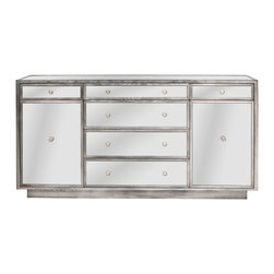 Vanguard Furniture - Vanguard Furniture Madison Drawer Chest P527D-AX - Vanguard Furniture Madison Drawer Chest P527D-AX