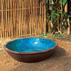 outdoor planters by biggrassbamboo.com