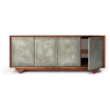 Modern Media Storage by Wud Furniture Design