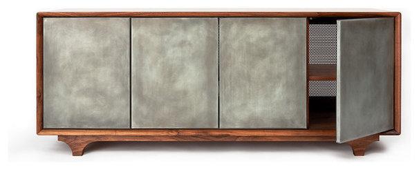 Modern Media Cabinets by Wud Furniture Design