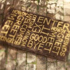 Contemporary Doormats by Pottery Barn