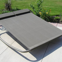 Rocking Hammock - Lying in a hammock and rocking in a big comfy rocker are two great ways to relax in a backyard. This awesome rocking hammock provides both at the same time. I can see a lot of fighting over this one, so it's a good thing it's big.
