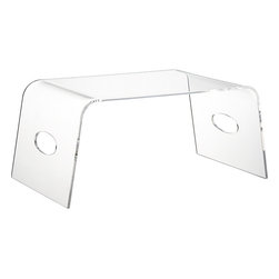 Acrylic Bed Tray - Breakfast in bed is one of life's little pleasures. Your love of Lucite will collide with your heavenly morning in the best way possible.