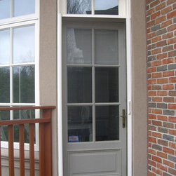 Entry Door Retractable Screens 8 Single Door