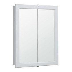 Dhi Corp Concord White Gloss Bi View Medicine Cabinet