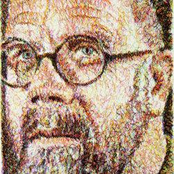 Self-Portrait / Scribble / Etching - Chuck Close - Alan Avery Art Company and Chuck Close