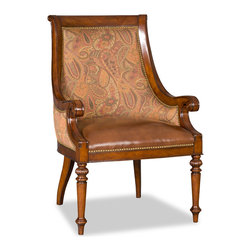 Hooker Furniture - Hooker Furniture Brookhaven Dining Arm Chair 300-350042 - The Brookhaven Collection is crafted from hardwood solids with cherry veneers.