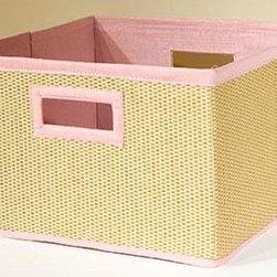 RR - B-Cubed Storage Baskets in Pink - Set of 3 - B-Cubed Storage Baskets in Pink - Set of 3