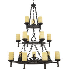 Traditional Chandeliers by Arcadian Home & Lighting