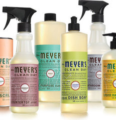 cleaning supplies by Mrs. Meyer's Clean Day