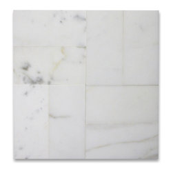 "Stone Center Corp - Calacatta Gold Marble Subway Tile 3x6 Polished - Premium grade calacatta gold marble tile 3"" width x 6"" length x5/16"" thickness"