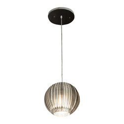 Trend Lighting - Phoenix 1-Light Pendant - Light up your world! Hanging this ethereal pendant in your home is like having lightning in a bottle. You'll find your whole room radiates with the resplendence of this gleaming fixture.