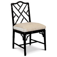 traditional dining chairs and benches by Jonathan Adler