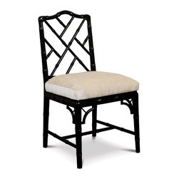 Jonathan Adler Chippendale Chair - Chippendale Chairs are no passing trend - they've been around for hundreds of years. This glossy contemporary version brings big style to the (dining room) table.