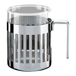 Alessi - Alessi Armug Mug - This clever mug goes above and beyond. The extended translucent interior means you can fill it past the rim, while the slatted exterior is a stylish way to see how long you have until that much-needed refill.