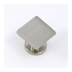 Stone Mill - Stone Mill SoHo Satin Nickel Cabinet Knobs (Pack of 25) - Open your cabinet in style with these Soho satin nickel knobs Sold as a set of 25 zinc-metal knobs Cabinet accessories are individually poly-bagged to prevent damage to the finish