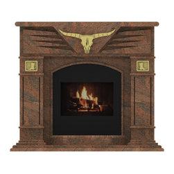 Granite Fireplace -