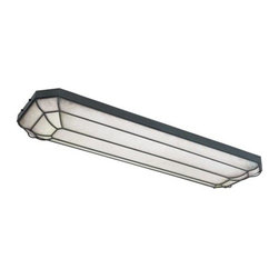 World Imports - Model 7202-42: Rust Linear Flush Fluorescent - The kitchen has become less of a functional space and more of a living space. We have added fluorescent lights in our best selling families to combine style with function in the kitchen. World Imports - 461407